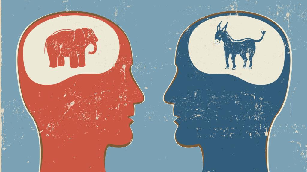 Partisan Divide Around Censorship in Social Media