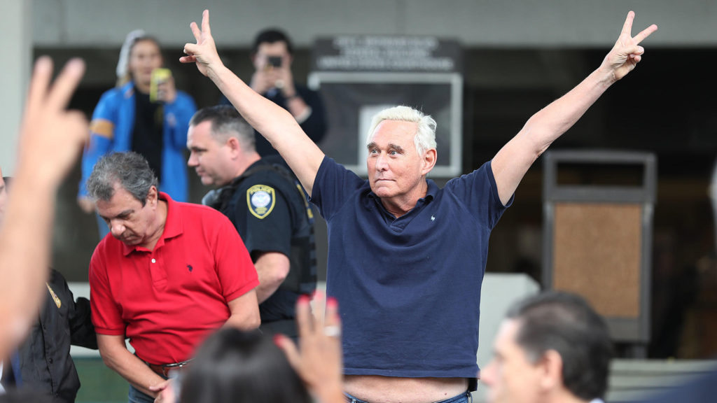 Roger Stone Hurls Back at CNN for Painting Him as a Criminal