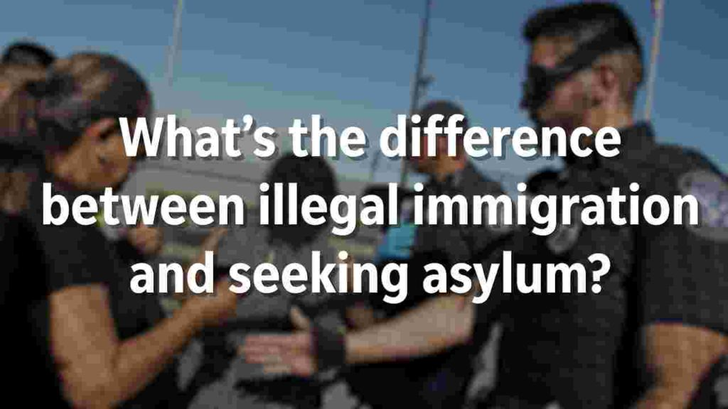 Democrats claim all those flowing into America are legal asylum seekers. It's a lie.