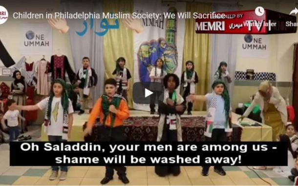 Shocking video surfaces of Philadelphia children at Muslim school singing terrorist songs