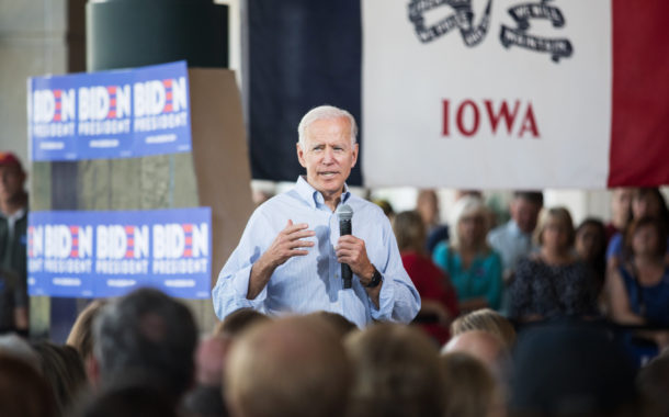 Trump and Biden Exchange Barbs in Iowa